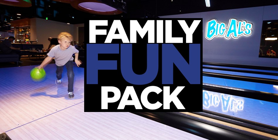 Family FUN Pack @ Big Al's Silicon Valley