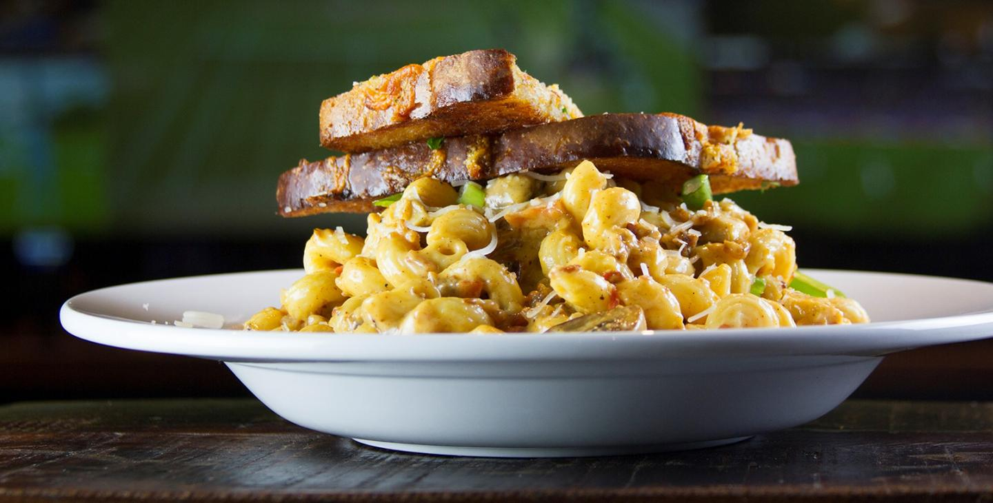 Mac Cheese Sandwich Banner
